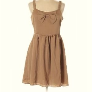 Mendocino Alythea vintage dress with bow and belt